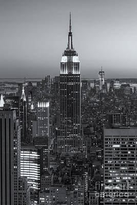 Photograph - Top Of The Rock Twilight Vi by Clarence Holmes