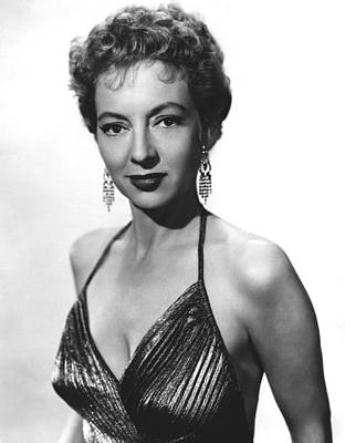 1955 Movies Photograph - Top Of The World, Evelyn Keyes, 1955 by Everett