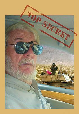 Top Secret Art Print by Larry Mulvehill