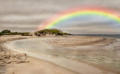 Topsail Rainbow Art Print by Betsy Knapp