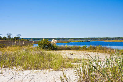 Topsail Island Photograph - Topsail Sound by Betsy Knapp