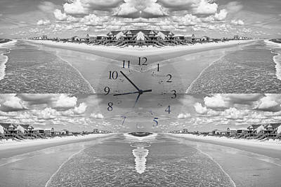 Shore Digital Art - Topsail Time by Betsy Knapp