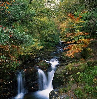 Torc Waterfall, Ireland,co Kerry Art Print by The Irish Image Collection