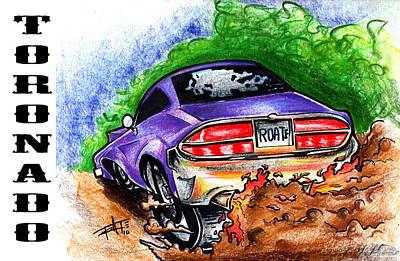 Tornado Art Print by Big Mike Roate