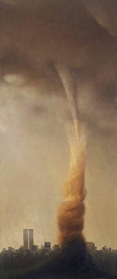 Painting - Tornado by Marian Christopher Zacharow