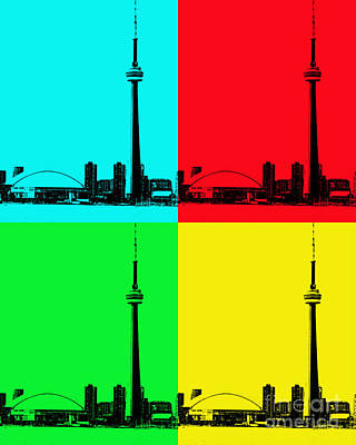 Photograph - Toronto Pop Art by Traci Cottingham