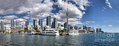 Photograph - Toronto Skyline  by Andrea Kollo