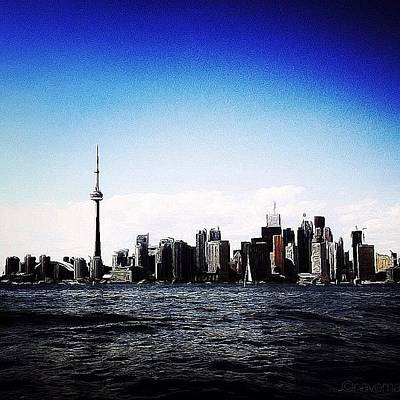 Gmy Photograph - Toronto Skyline by Natasha Marco
