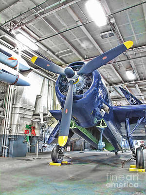 Art Print featuring the photograph Torpedo Bomber by Jason Abando
