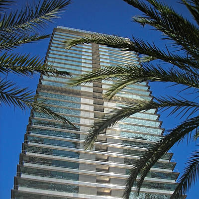 Photograph - Torre Mapfre - Barcelona by Juergen Weiss