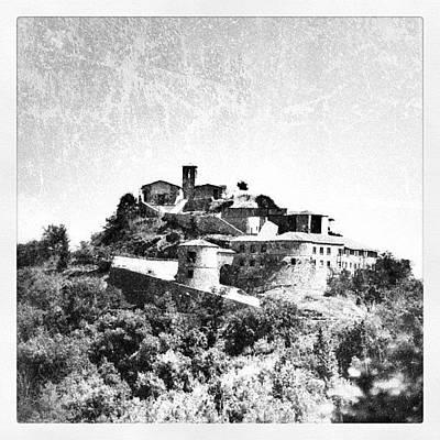 Still Life Photograph - Torriana Castle by Chi ha paura del buio NextSolarStorm Project