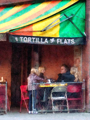 Daughters Photograph - Tortilla Flats Greenwich Village by Susan Savad