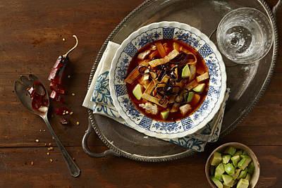 Y120817 Photograph - Tortilla Soup by Lew Robertson