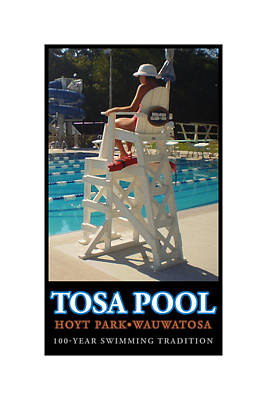 Digital Art - Tosa Pool by Geoff Strehlow