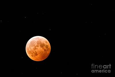 Total Lunar Eclipse Art Print by Matt Suess
