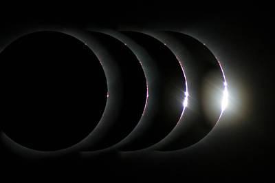 Total Solar Eclipse Art Print by Laurent Laveder