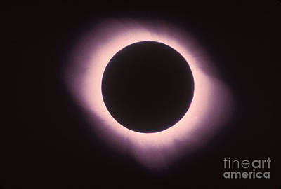 Total Solar Eclipse With Corona Art Print by Science Source