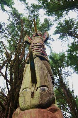 Photograph - Totem Pole by Angi Parks