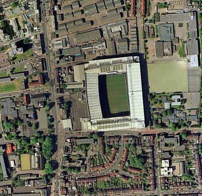 Tottenham Photograph - Tottenham Hotspur's White Hart Lane by Getmapping Plc