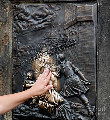 Prague Photograph - Touch Me by Pravine Chester
