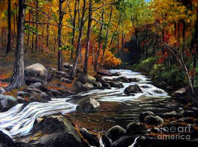 Touch Of Fall Art Print by Ronald Tseng
