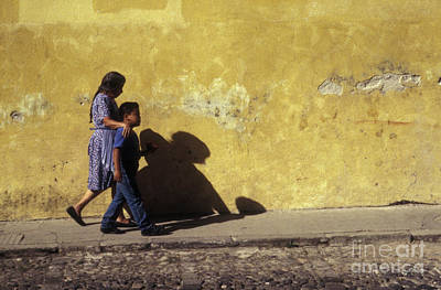 Photograph - Touching Antigua Scene  by John  Mitchell