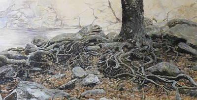 Tough Tree Art Print by Yuri Ozaki