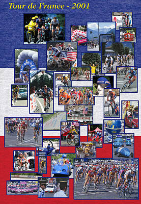 Photograph - Tour De France by John Farley