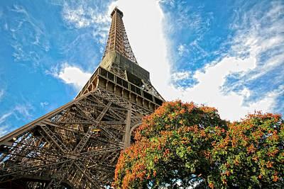Paris Photograph - Tour Eiffel   Eiffel Tower by Ruy Barbosa Pinto