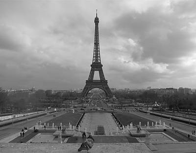 Photograph - Tour Eiffel by Blake Yeager