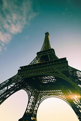 Y120907 Photograph - Tour Eiffel by Images by Fabio