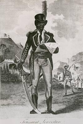 Toussaint Louverture 1843-1803 Leader Art Print by Everett