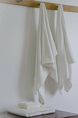 Photograph - Towels  by Wilma  Birdwell