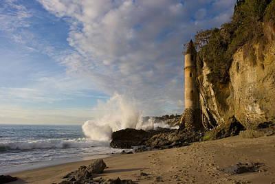Laguna Beach Photograph - Tower At Laguna Beach by Cliff Wassmann