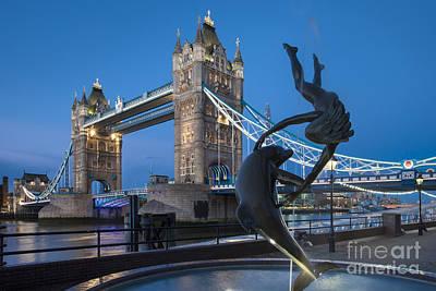 Rock Royalty - Tower Bridge - London by Brian Jannsen