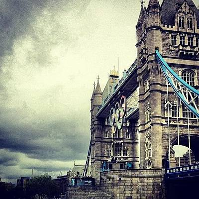 London2012 Photograph - Tower Bridge 2012 by Samuel Gunnell