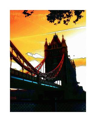 Tower Bridge London Art Print by Steve K
