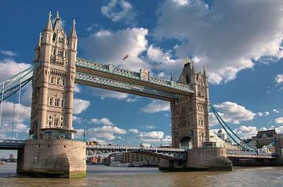 Tower Bridge Art Print by Paul Biris