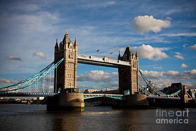Tower Bridge Art Print by Steven Gray