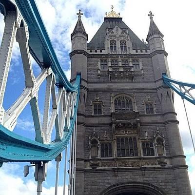 Angle Photograph - Tower Bridge #towerbridge #london by Luke Cameron