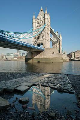 Tower Bridge2 Art Print by Johnnie Pakington