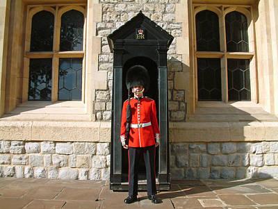 Tower Guard London England Art Print by Joseph Hendrix