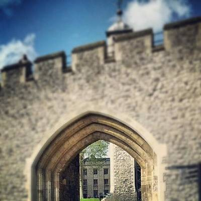 Dungeon Photograph - #tower #london #famous #landmark by Joe Mitchell