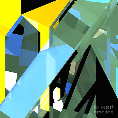 Digital Art - Tower Series 17 by Russell Kightley