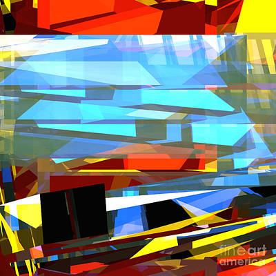 Digital Art - Tower Series 34 by Russell Kightley