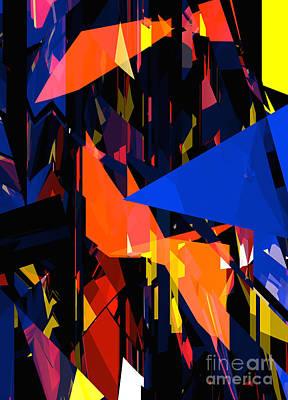 Digital Art - Tower Series 8p by Russell Kightley