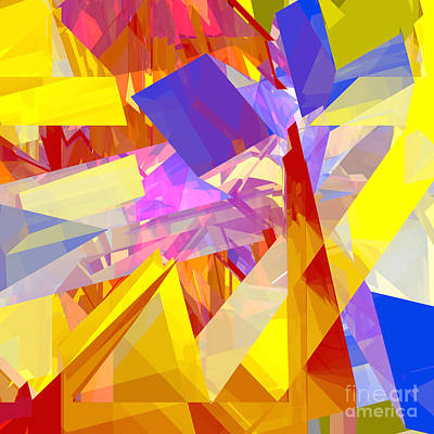 Digital Art - Tower Series 9 by Russell Kightley