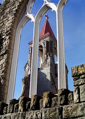 Tower Through The Window Art Print