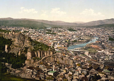Tbilisi Photograph - Town Fortress In Tbilisi - Georgia by International  Images