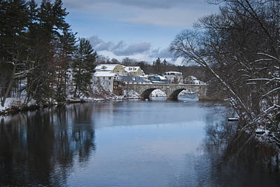 Photograph - Town Of Henniker by Peggie Strachan